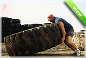 Tractor tire for exercise. Explosive strength development. Flipping tire for the gym, school or at home. From 200 Lbs to 600 lbs tractor tires available.The perfect tire to burn off that spare tire or put a sledgehammer to it. Extreme workout.